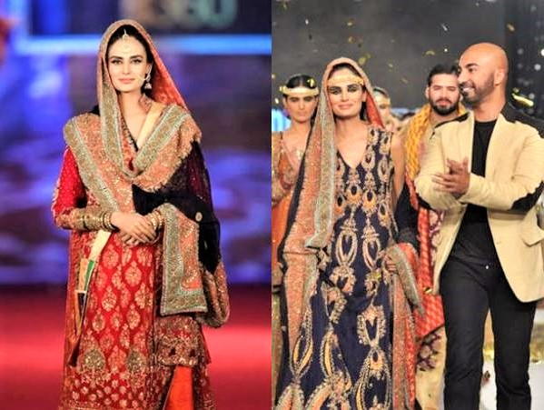 Latest Mehndi Dresses By HSY