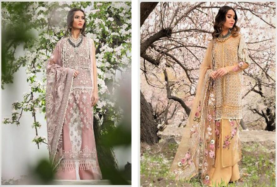 Beautiful Mehndi Dresses by Sana Safinaz 2021