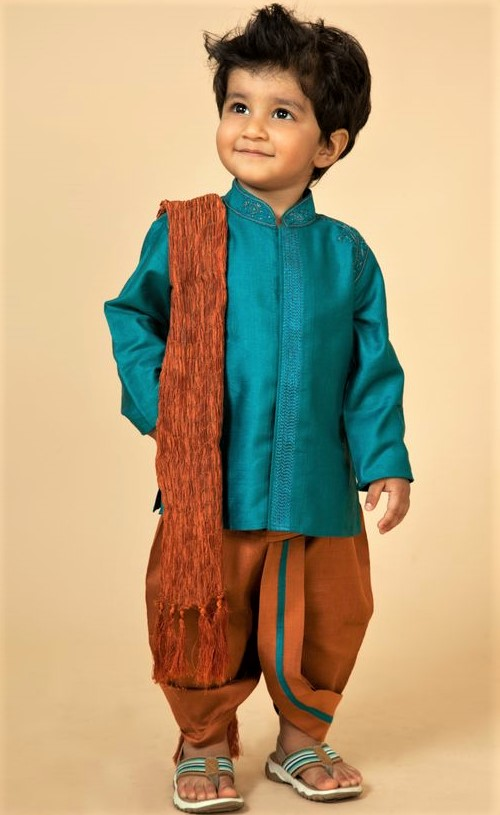 Mehndi Dresses shalwar kameez for Baby Boy