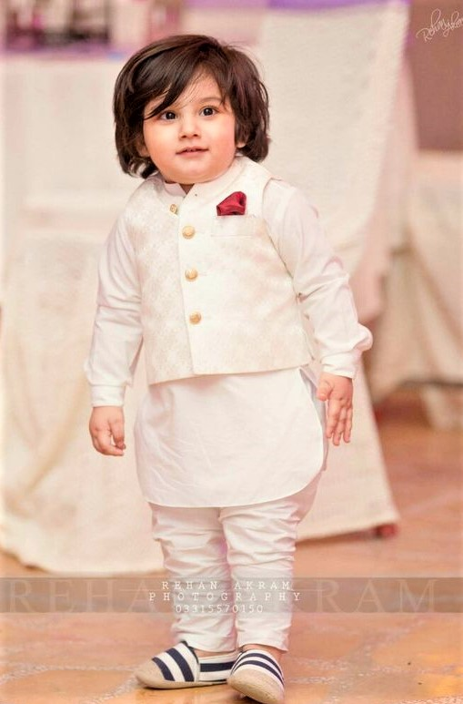 Mehndi Dresses for Baby Boy ethnic wear
