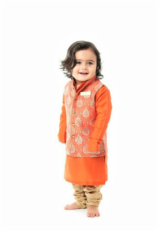 Mehndi Dresses for Baby Boy urban fashion