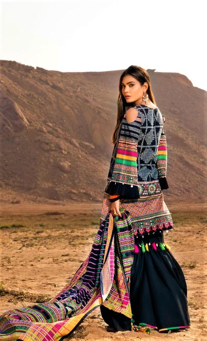 Gul Ahmed Mehndi Dresses in Pakistan