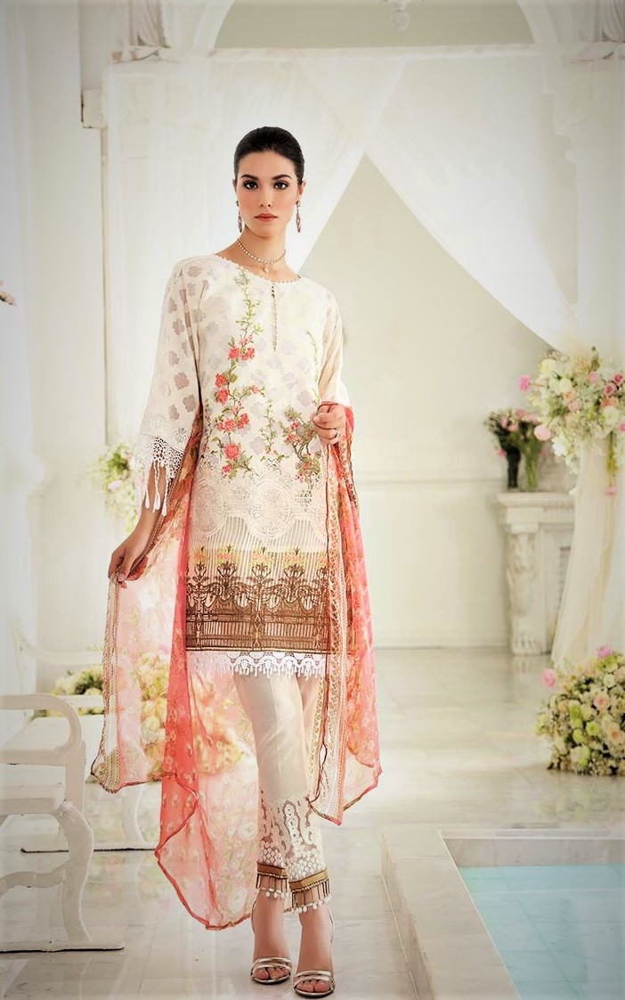 latest Mehndi Dresses By Gul Ahmed