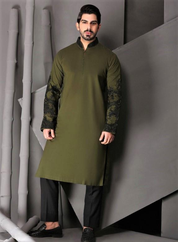 Mehndi Dresses male kurta styles