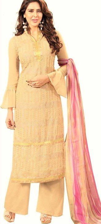 Simple Palazzo mehndi dresses and long shirt