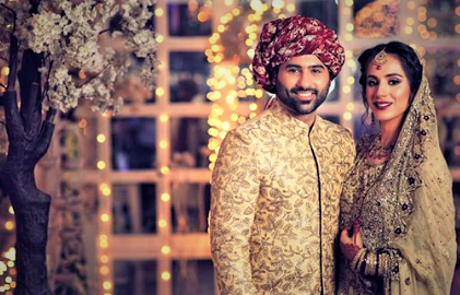 Maham Amir and Faizan Shaikh Wedding Dresses