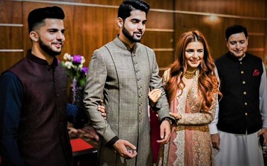 Momina Brother Hashim Mustehsen Wedding Dresses