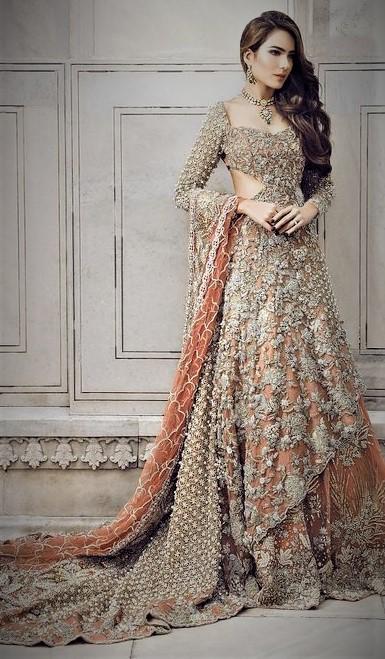 Mehndi Dress New Style 2018