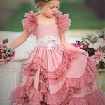 Frock for baby girls Mehndi Event Dresses