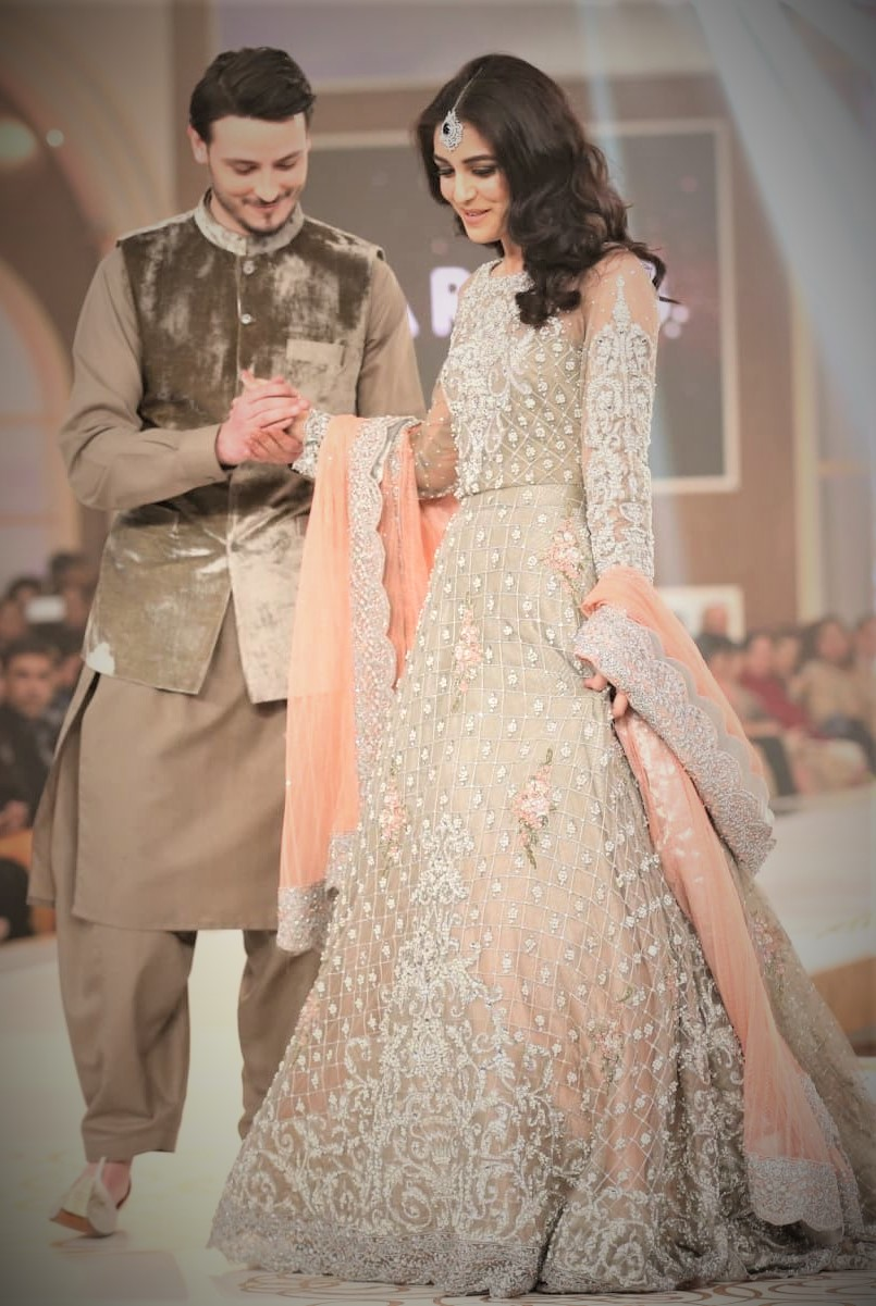 Nikkah Mehndi Dresses for Bride and Groom