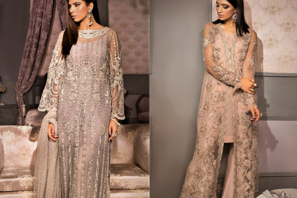 Bridal Mehndi Dresses by Elan Collection