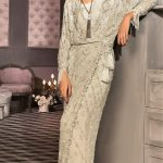 Bridal Mehndi Dressesstripe by Elan Collection