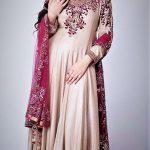 Elegant Expensive glamorous Embroidery Mehndi Dresses for wedding