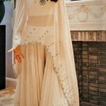 latest sharara mehndi dresses