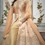 girls frock Mehndi Event Dresses New Collection Styles
