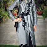 Pakistani designer Mehndi Dresses by Ruby Shakeel Collection