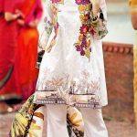 bridemaid Mehndi Dresses in White Colour Pakistani