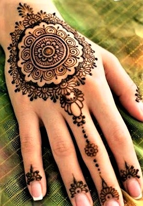 Arabic Mehndi Bunches Design 2018