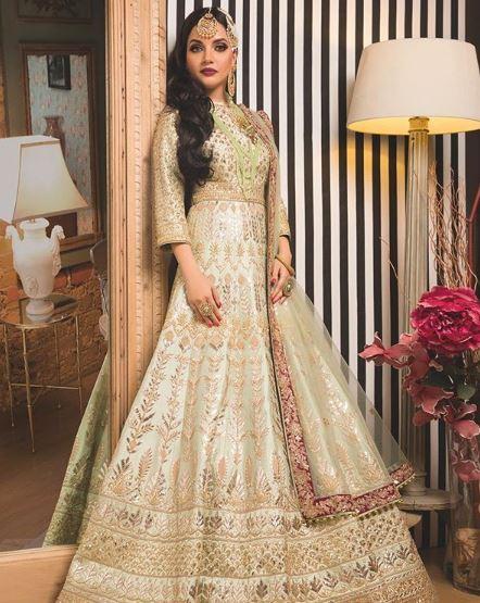 Armeena Khan actress bridal dresses picture