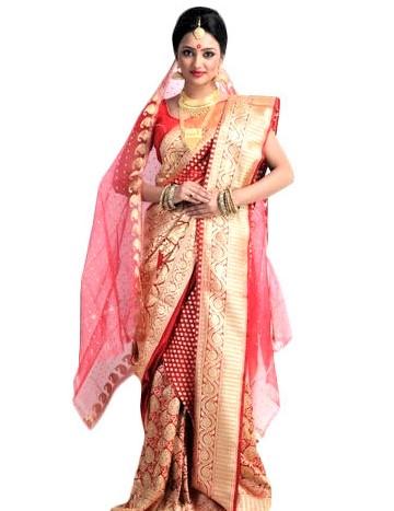 Bangladeshi Mehndi Saree Designs 2018
