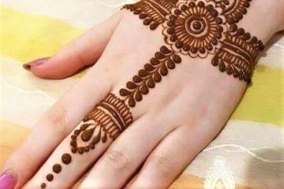 Best Kashees Bridal Mehndi Design 2018