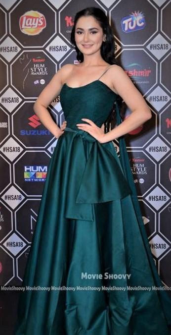 Hania Amir Dresses at Hum Style Awards 2018