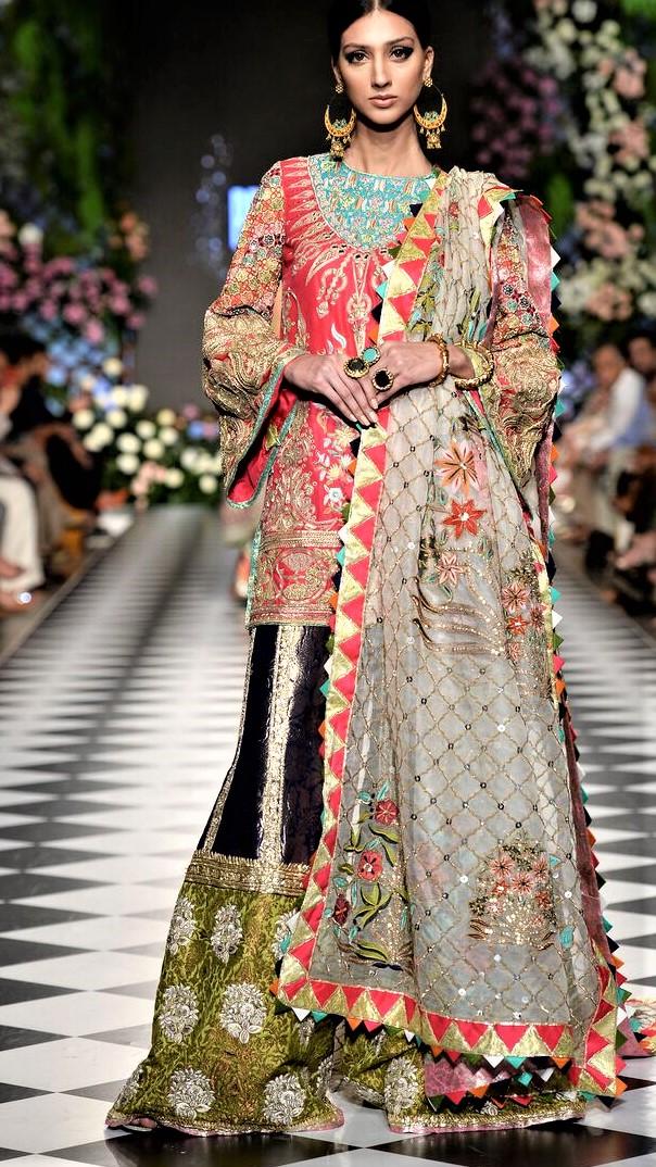 Ahmad Bilal Pakistani Designer Bridal Collection 2018 PDFC