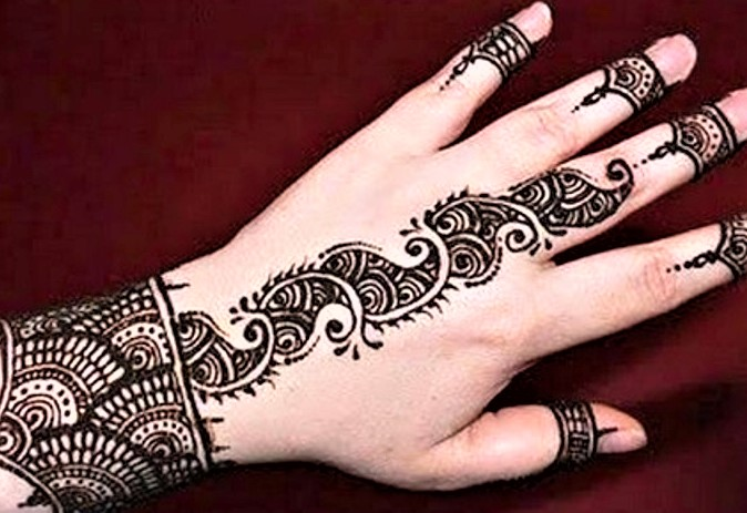 Kashees Mehndi Bunch Design