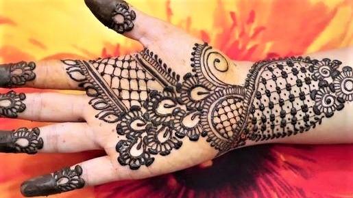 Kashees Mehndi Designs for Hands 2018