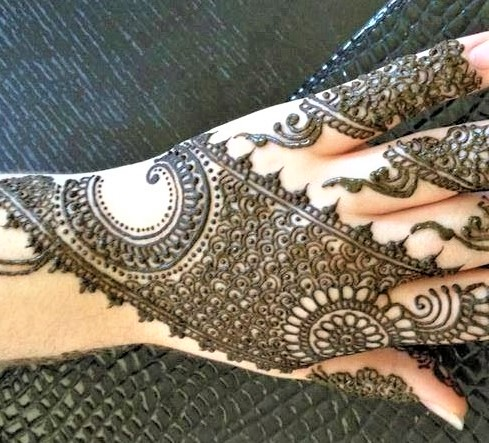 Kashees Mehndi Designs for Hands 2018
