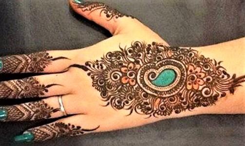 Kashees Mughal Mehndi Design