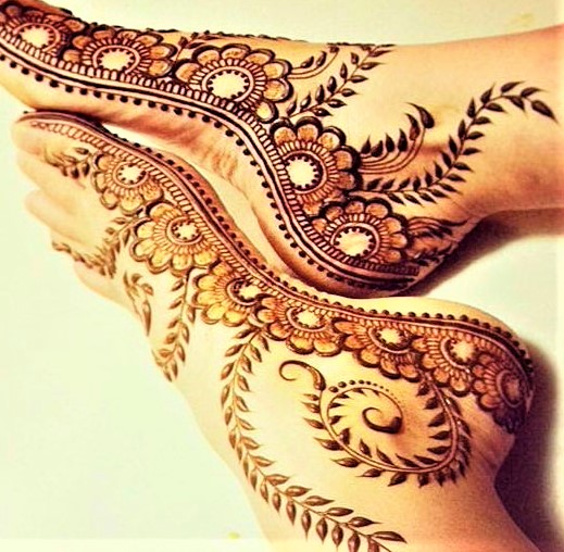 Mehandi Design 2018 for Feet