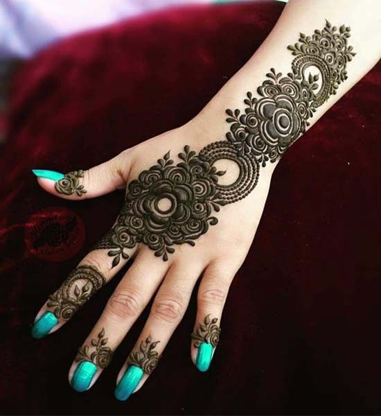 Mehandi Designs 2018 for Party