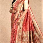 Mehndi Colour Silk Saree 2018