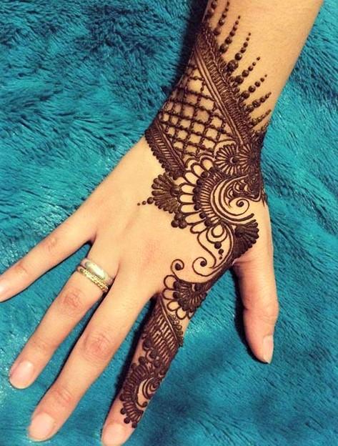 Mehndi Design 2018 for Right Hand