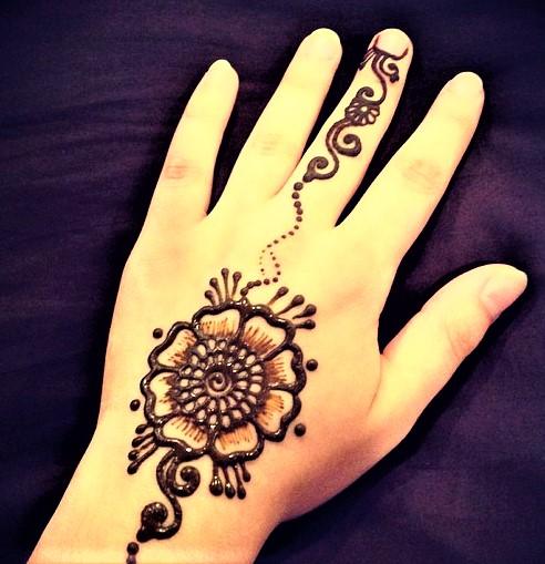 Mehndi Design 2018 for Small Hand