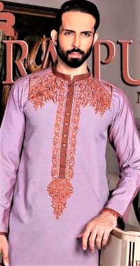 Mehndi Kurta Design for Man 2018