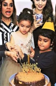 Sadia Imam Daughter Birthday in Good Morning Pakistan