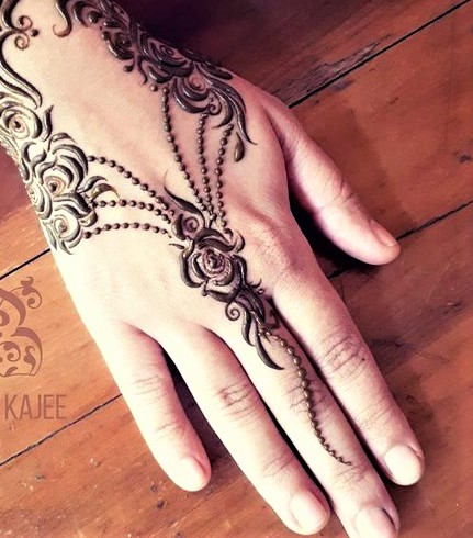 Top Mehndi Designs 2018 New Style for Eid