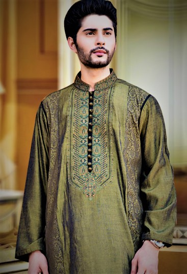 Mehndi Dresses 2018 for Man