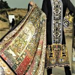 Ittehad Textiles Izabel Printed Lawn Winter Collection 2018