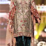 Mehndi Colour Kurti Designs 2018