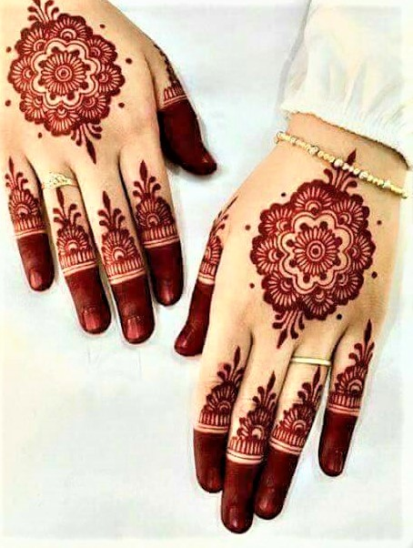 Fingers Latest Mehndi Design 2018 and 2019