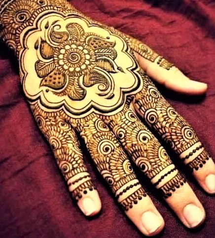 Upper hands Latest Mehndi Design 2018 and 2019