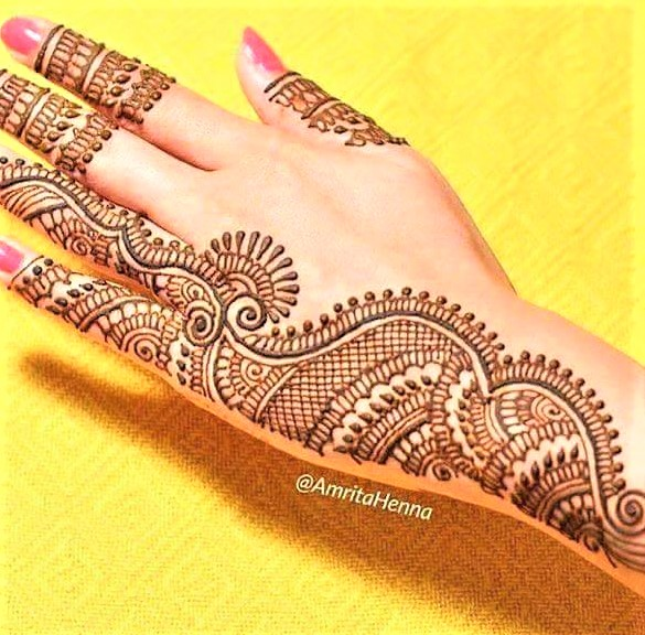 full hand Latest Mehndi Design 2018 and 2019