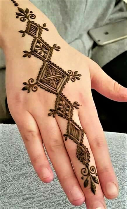 Arabic Latest Mehndi Design 2018 and 2019