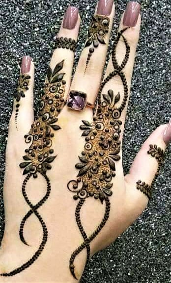 Bridal Latest Mehndi Design 2018 and 2019