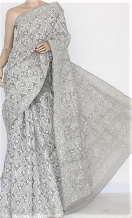 Mehndi Dresses Chikankari With Gota Patti Saree