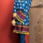 Mehndi Dresses Frock Style Casual Designs