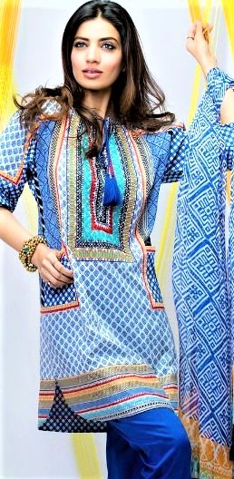 Mehndi Dresses: Frock Style Casual Designs